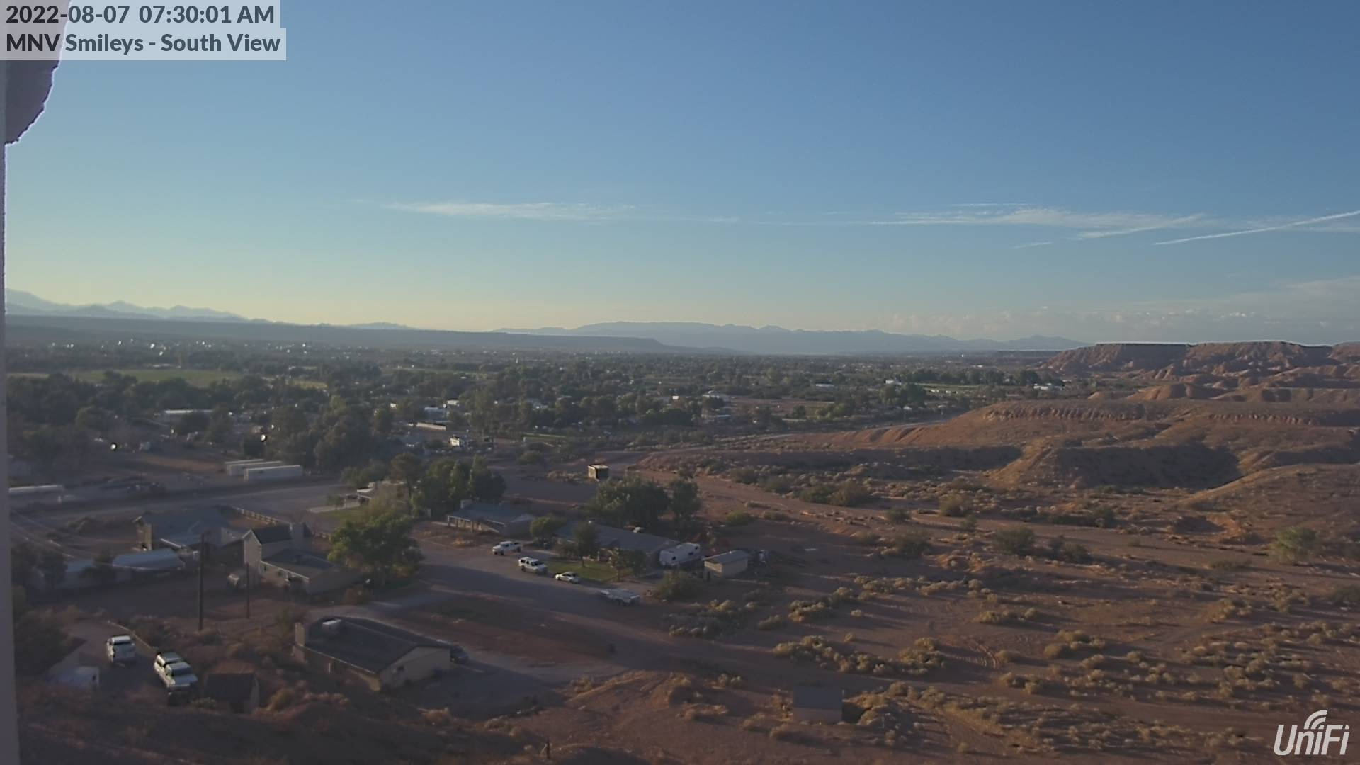 Moapa Valley Webcam - From Logandale West Water Tank